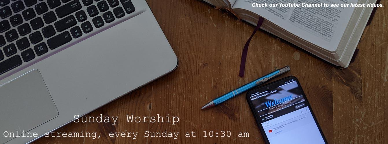 Online Worship Slide