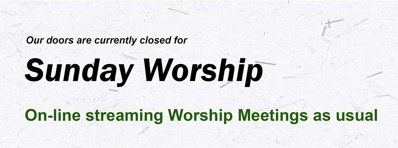 Worship Slide CLOSED